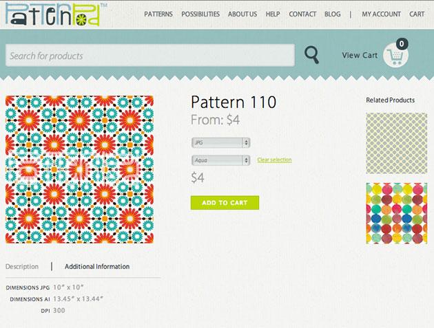 Pattern Pod Giveaway Closeup-of-Pattern