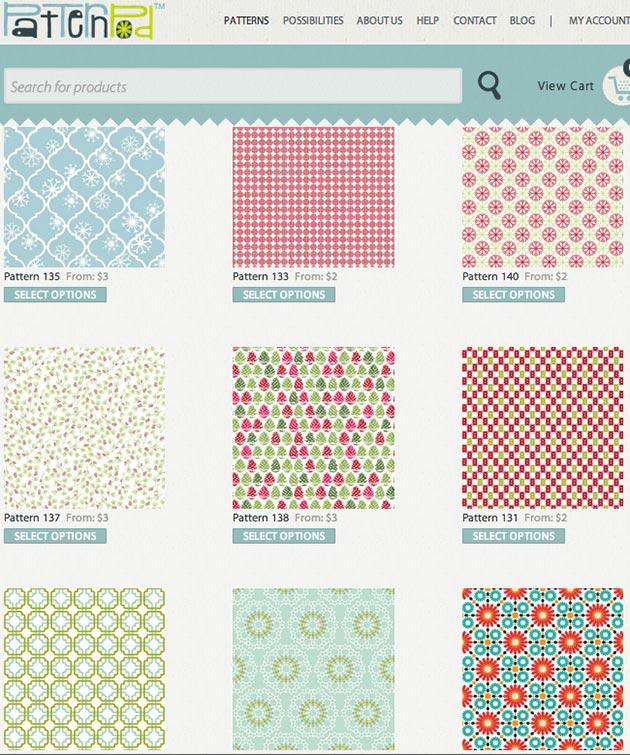 Pattern Pod Giveaway Patterns