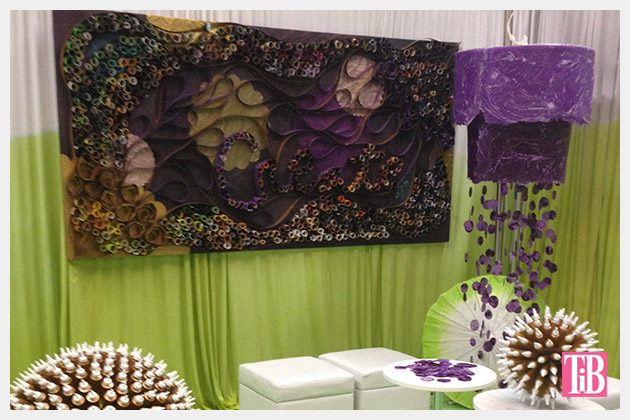 I Love To Create Booth at CHA Show 2014