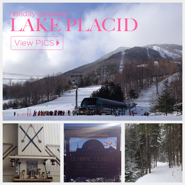 My Holiday Getaway to Lake Placid NY