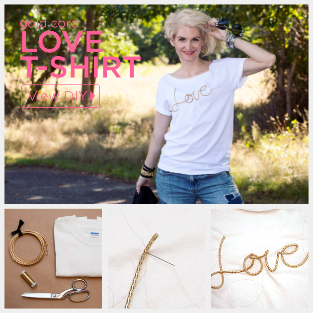 DIY Love T-Shirt Feature by Trinkets in Bloom