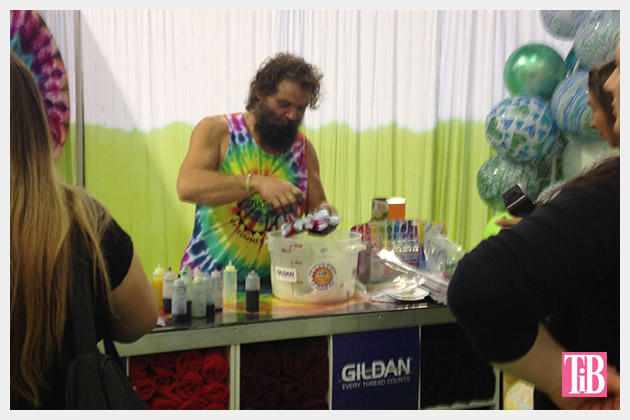 Rupert Boneham from Survivor at i Love To Create