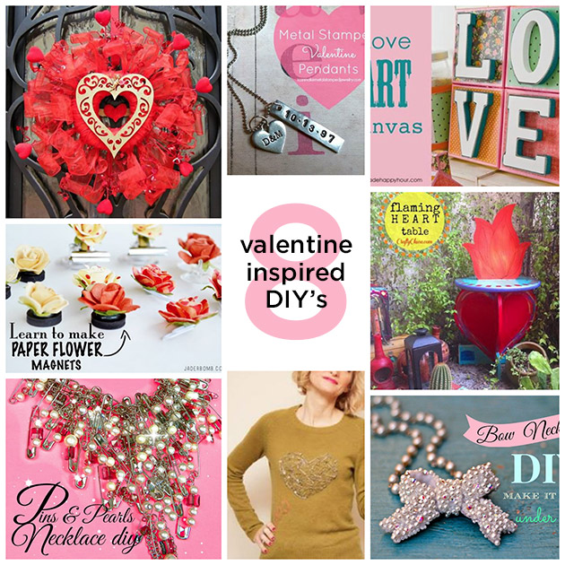 8 Valentine DIY's by Trinkets in Bloom
