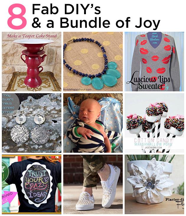 8 Fabulous DIY's & a Bundle of Joy