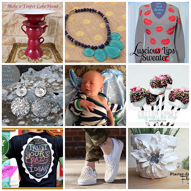 8 DIY's & A Baby Thurs-DIY Round-up