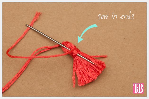 Beaded Tassel Bracelets Sewing in Ends