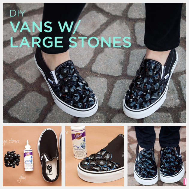 Diy vans black stones feature 022614