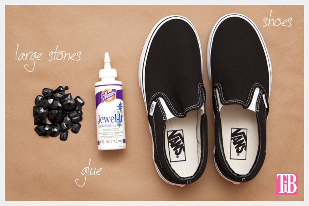 Jeweled Slip-Ons Supplies