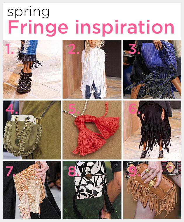 Spring Fringe Inspiration