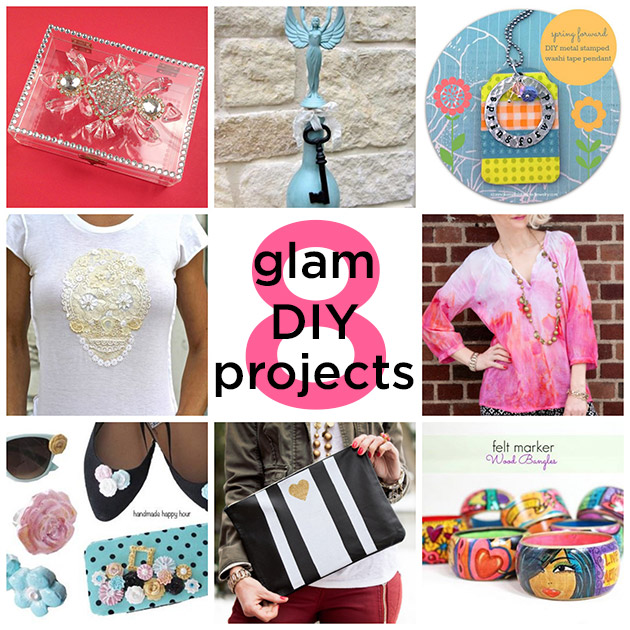 8 Glam DIY Projects