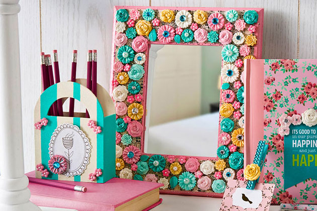 Cathie Filian Mod Podge Mod Melts Mirror