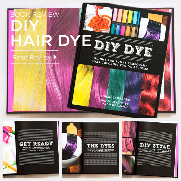 DIY Hair Dye Book Review by Trinkets in Bloom