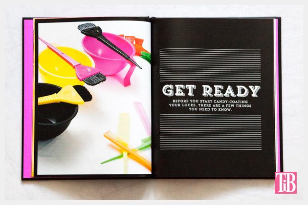 DIY Hair Dye Book Preparation