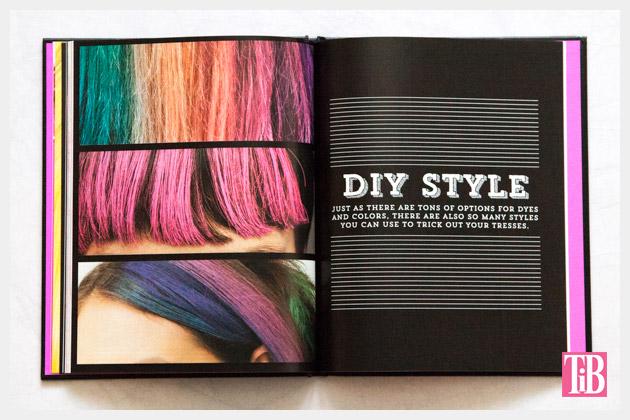DIY Hair Dye Book Style