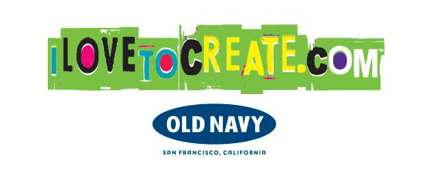 i Love To Create and Old Navy Logos
