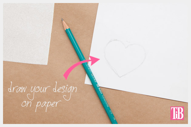 Leather Clutch DIY Drawing Your Design