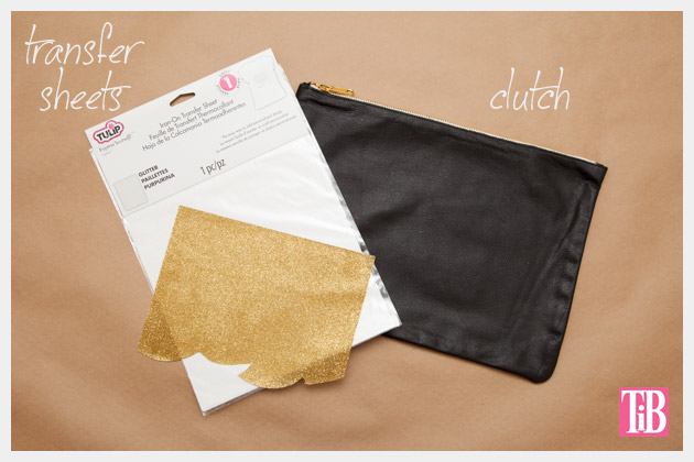 Leather Clutch DIY Supplies