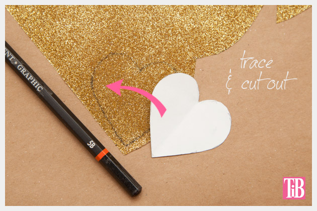 Leather Clutch DIY Tracing Design