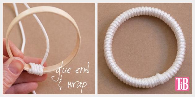 Nautical Bracelets DIY Anchor Bracelet Wrapping