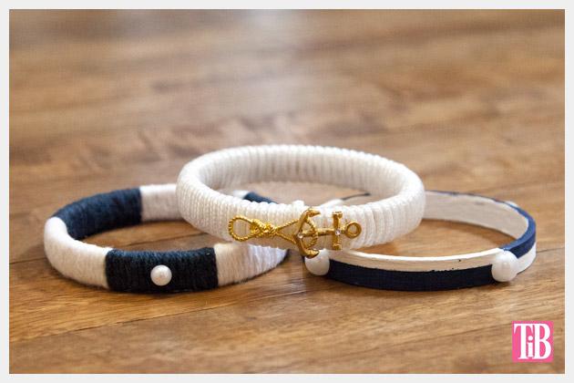 Nautical Bracelets DIY All 3 Photo Stack