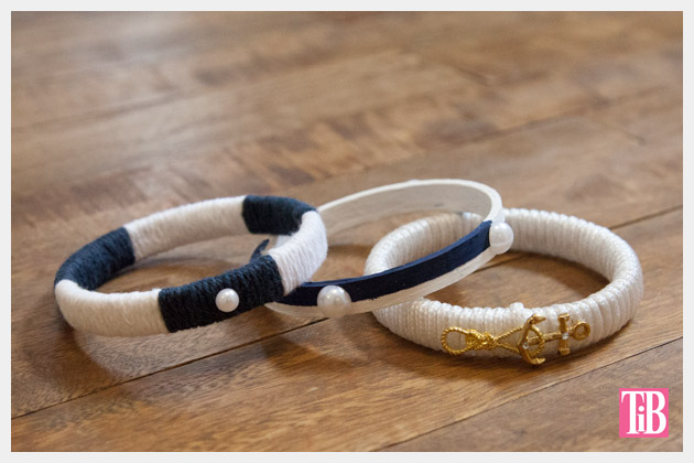 Nautical Bracelets DIY All 3 Photo