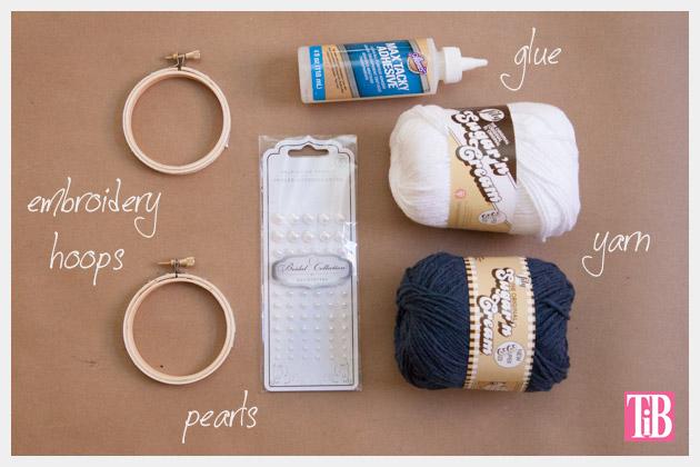 Nautical Bracelets DIY Yarn Wrapping Supplies