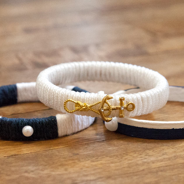 Nautical Bracelets DIY