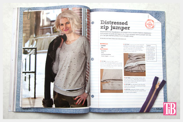 Reloved Magazine Feature Page
