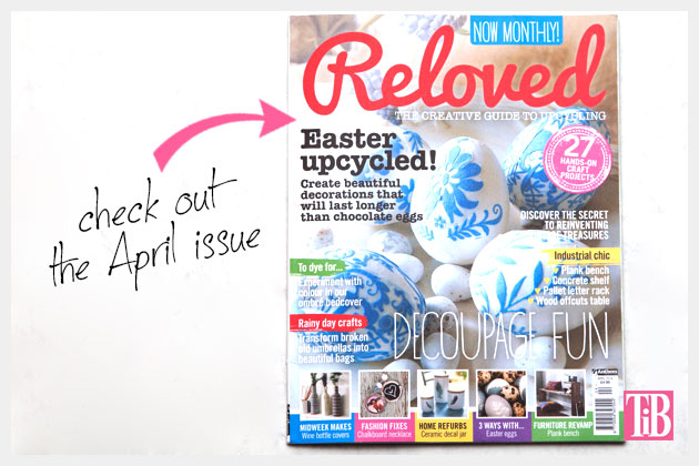 Reloved Magazine Front Cover