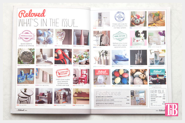 Reloved Magazine Index Page