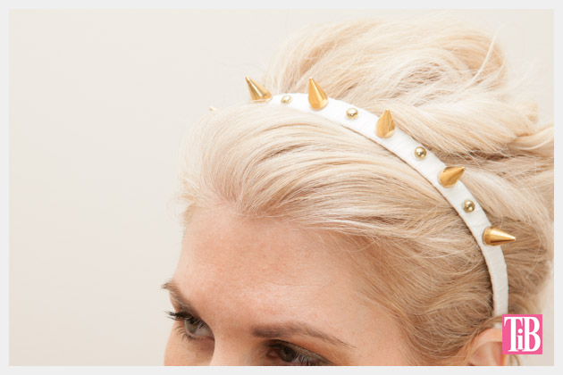 Spike Headband DIY Close Up