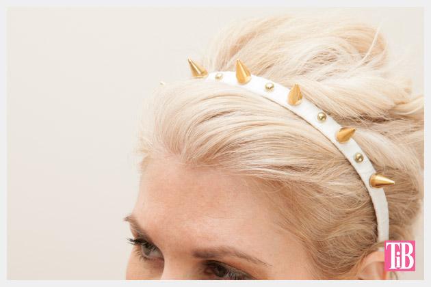 Spike Headband DIY Close Up