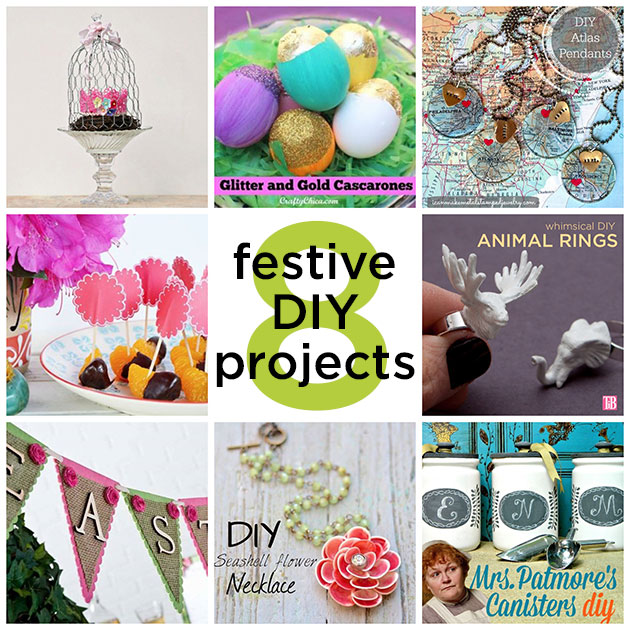 8 DIY Projects for Easter and Beyond