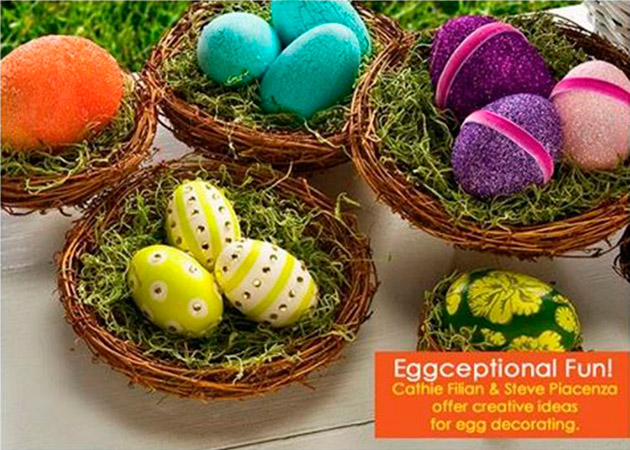 6 Creative Ideas for Egg Decorating