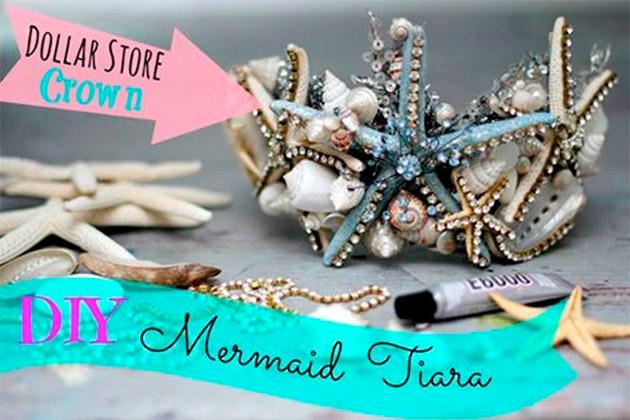 DIY Mermaid Tiara by Debi Beard