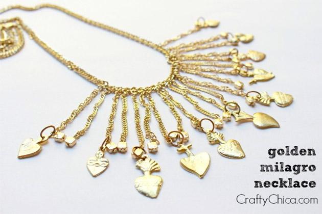 Golden Milagro Necklace