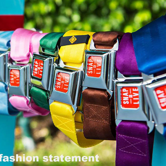 Snap2Live Colorful Belts