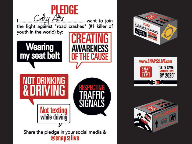 Snap2Live Pledge