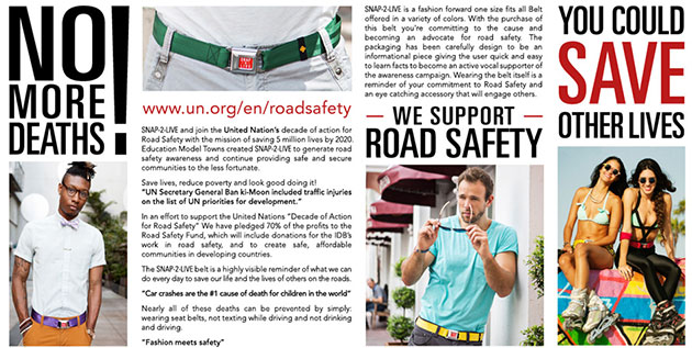Snap2Live Support Road Safety