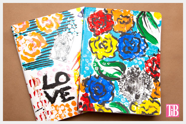 DIY Journals Photo by Trinkets in Bloom