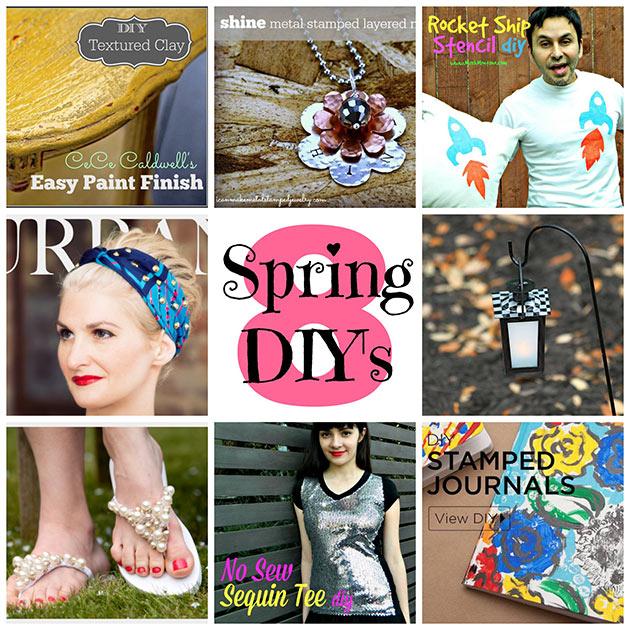Spring DIY Inspiration
