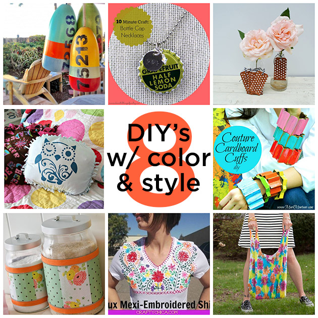 8 DIY's With Color and Style