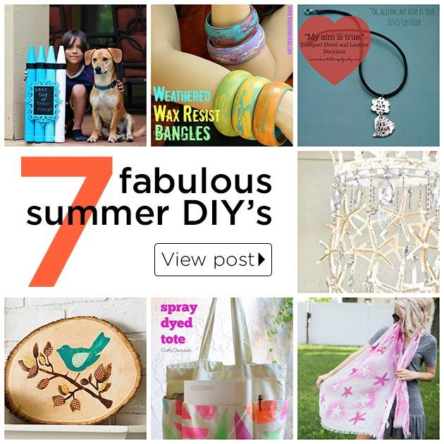 7 Summer DIY's