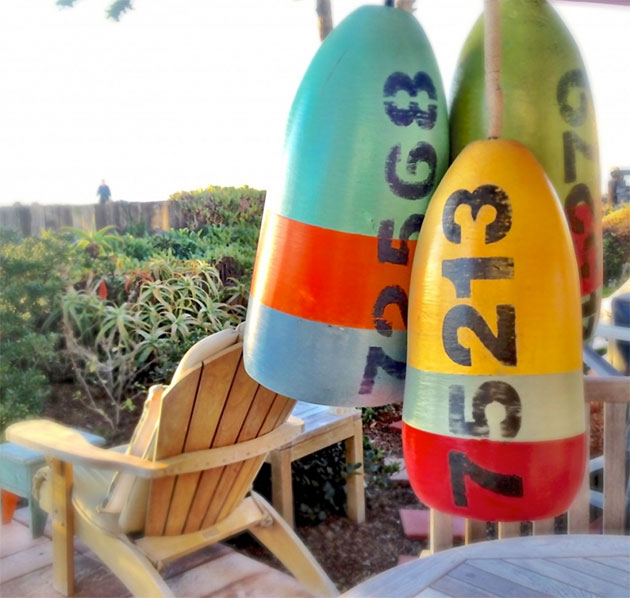 DIY Recycled Buoy Pendant Lights