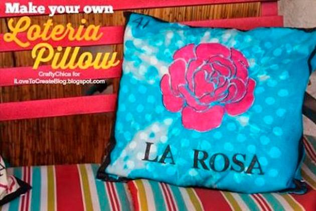 Loteria Pillow DIY