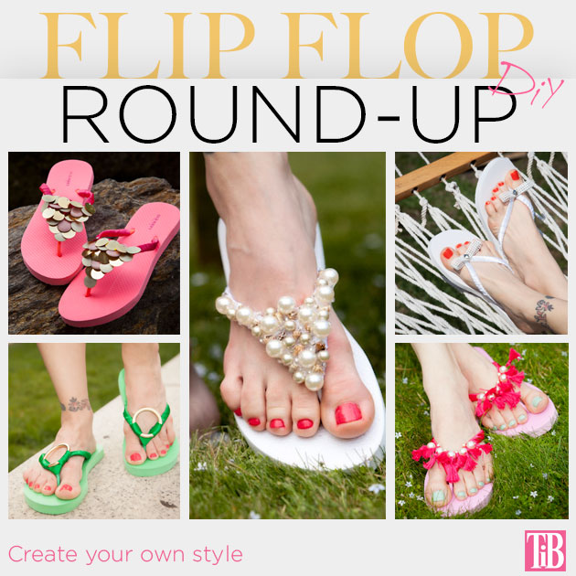 Flip Flop DIY Round-Up by Trinkets in Bloom