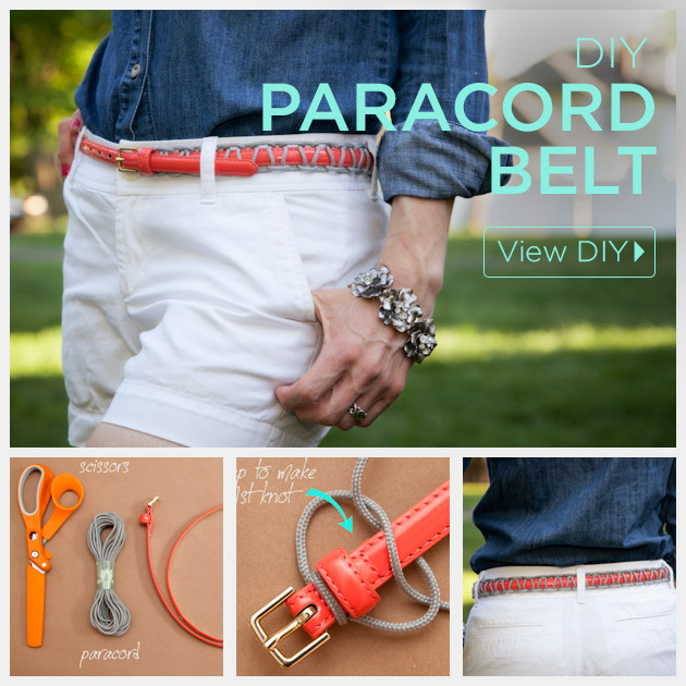 Paracord Belt DIY by Trinkets in Bloom