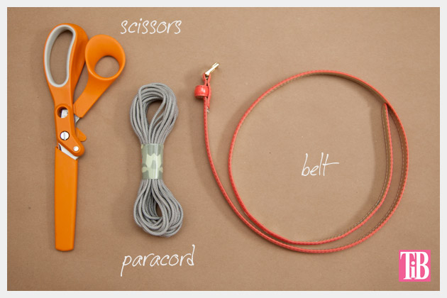 Paracord Belt DIY Supplies