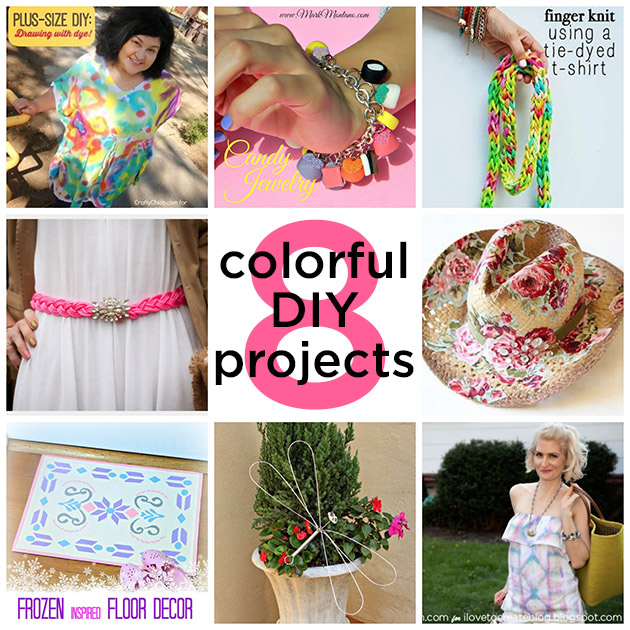 8 Colorful DIY Projects