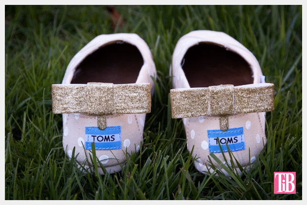 DIY Toms with Bows photo with bow in the back 2